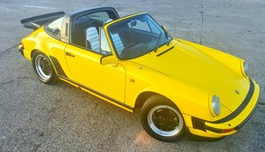 Porsche 911 SC Super Carrera 1981 Targa 204hp