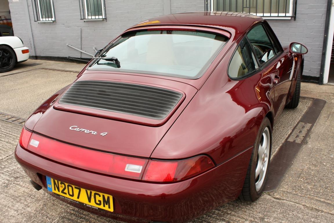 Porsche 993 Carrera 4 1996 For Sale (picture 5 of 6)