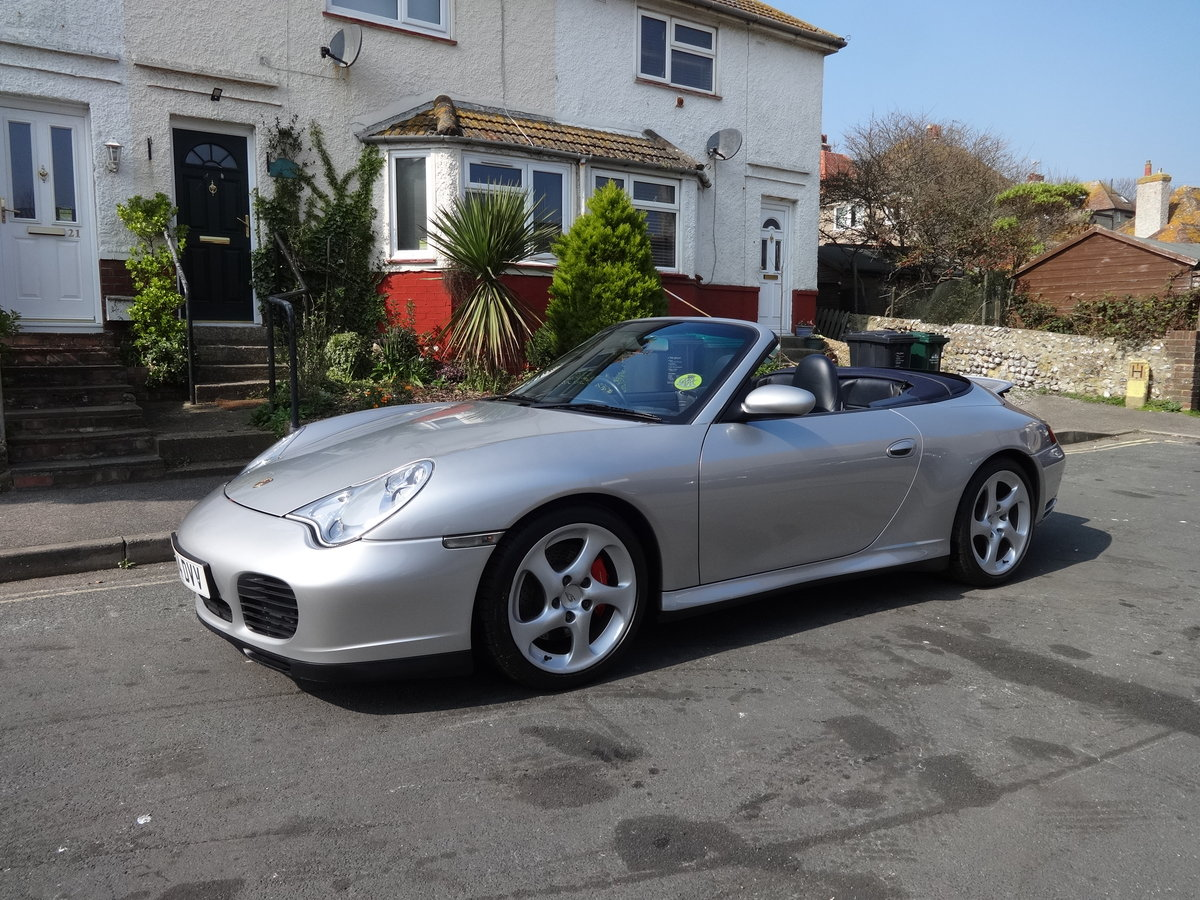 2004 PORSCHE 911 996 C4S CONVERTIBLE  For Sale (picture 1 of 6)