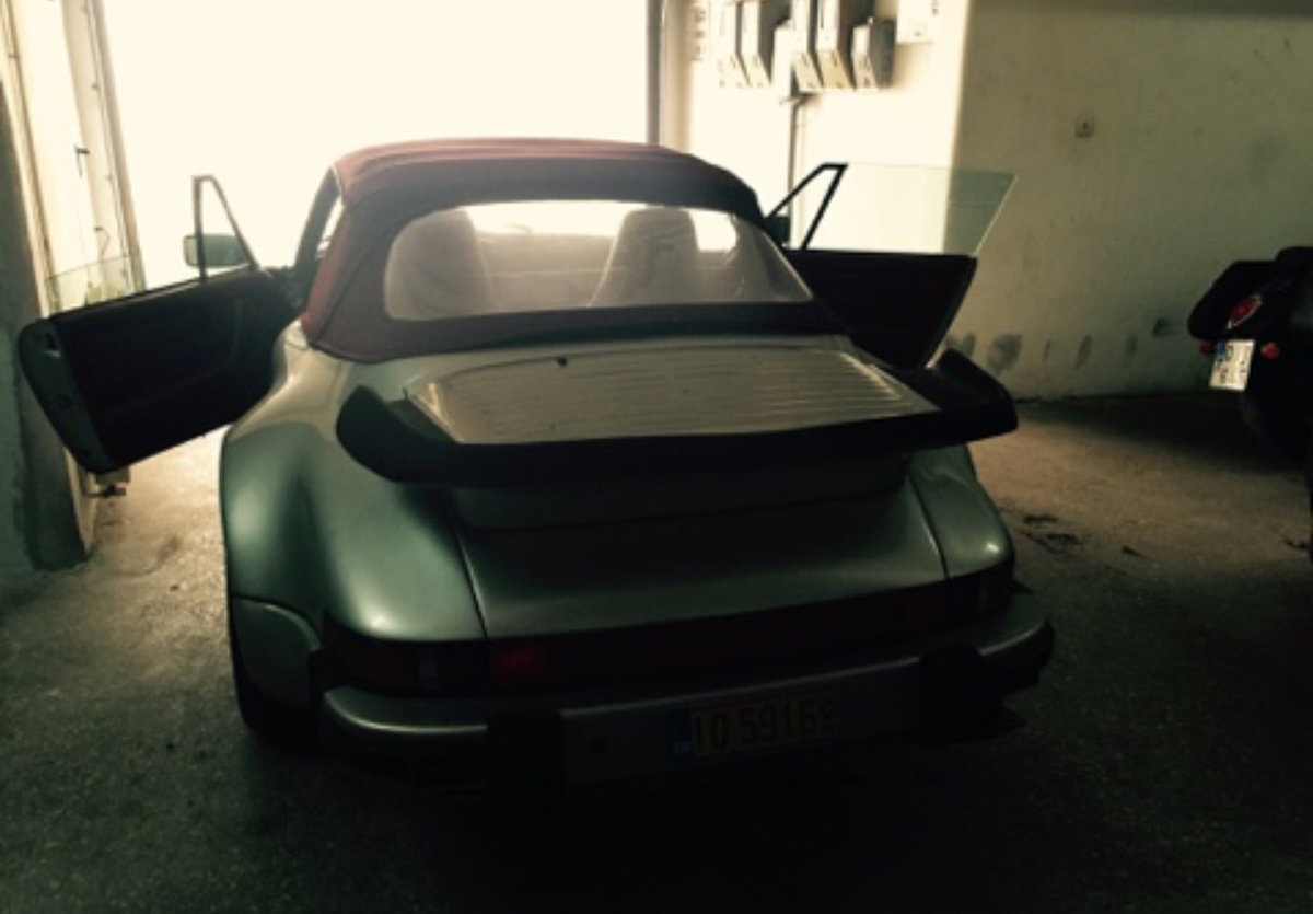 1987 911 930 Supersport Turbo body 3.6 RS engine For Sale (picture 1 of 6)