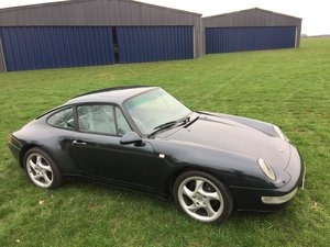 1994 Porsche 993 Carrera Coupe .Manual For Sale