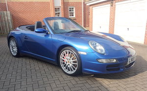 2007 Porsche 997 911 Carrera 4S Cabriolet, 6 Speed.
