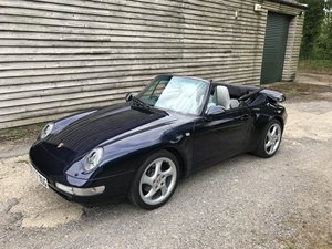 1995 Porsche 911 3.6 993 Carrera Tiptronic S 2dr For Sale