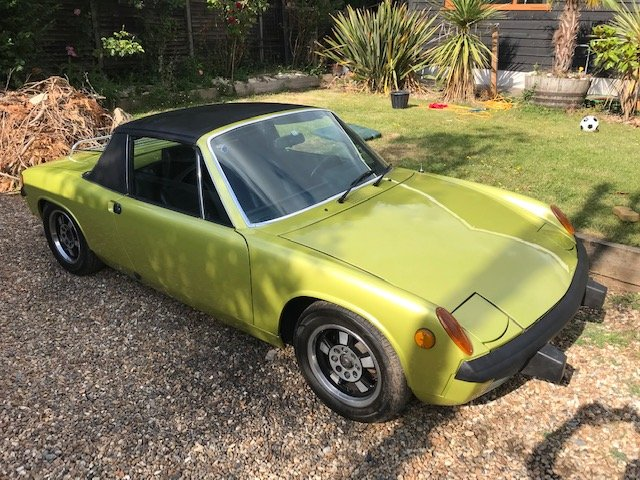 1974 porsche 914 For Sale (picture 1 of 6)