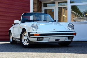 1986 Porsche 911 Carrera Cabriolet 3.2 For Sale
