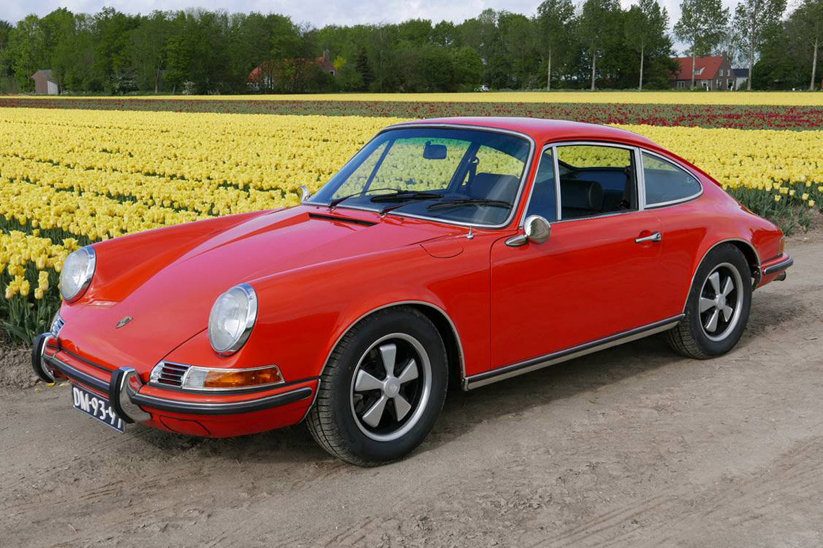 1970 Porsche 911E Coupe For Sale by Auction (picture 1 of 6)