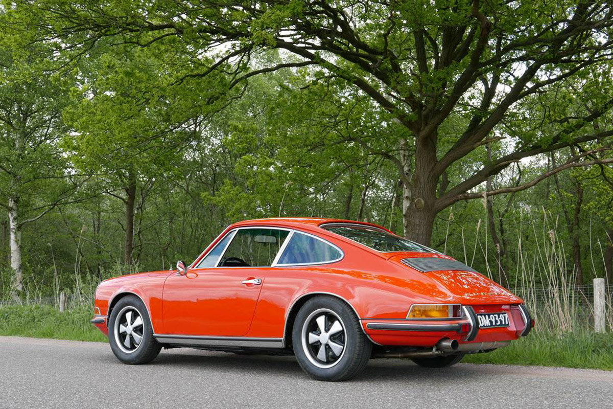1970 Porsche 911E Coupe For Sale by Auction (picture 4 of 6)