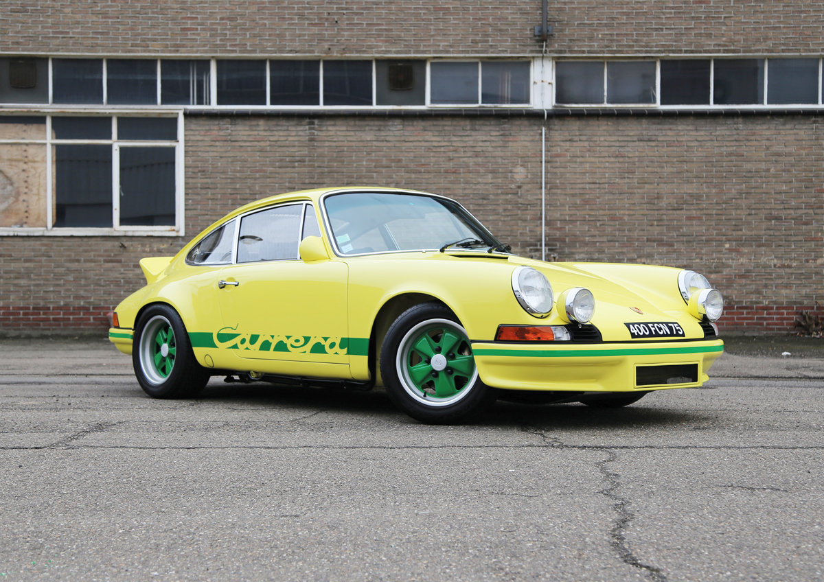 1973 Porsche 911 2.7 RS For Sale by Auction (picture 1 of 6)