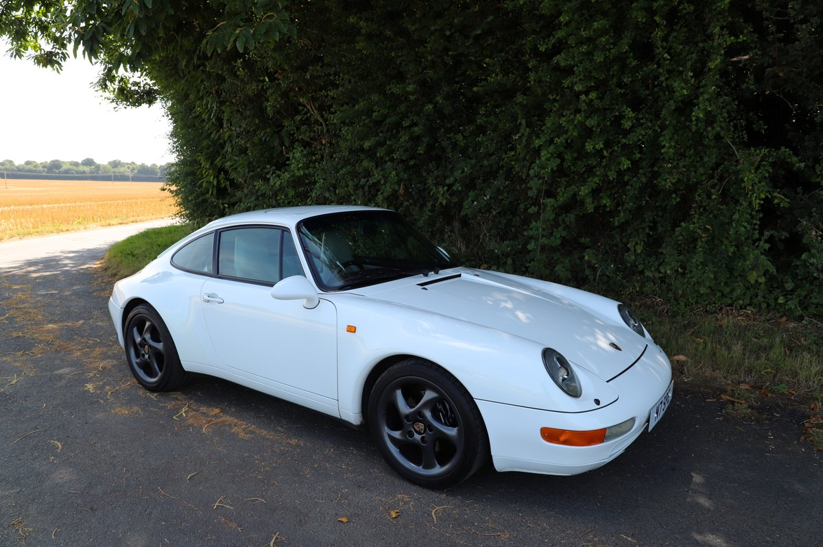 Porsche 911 993 3.6, 1994 (95MY).  Alpine White. For Sale (picture 1 of 6)