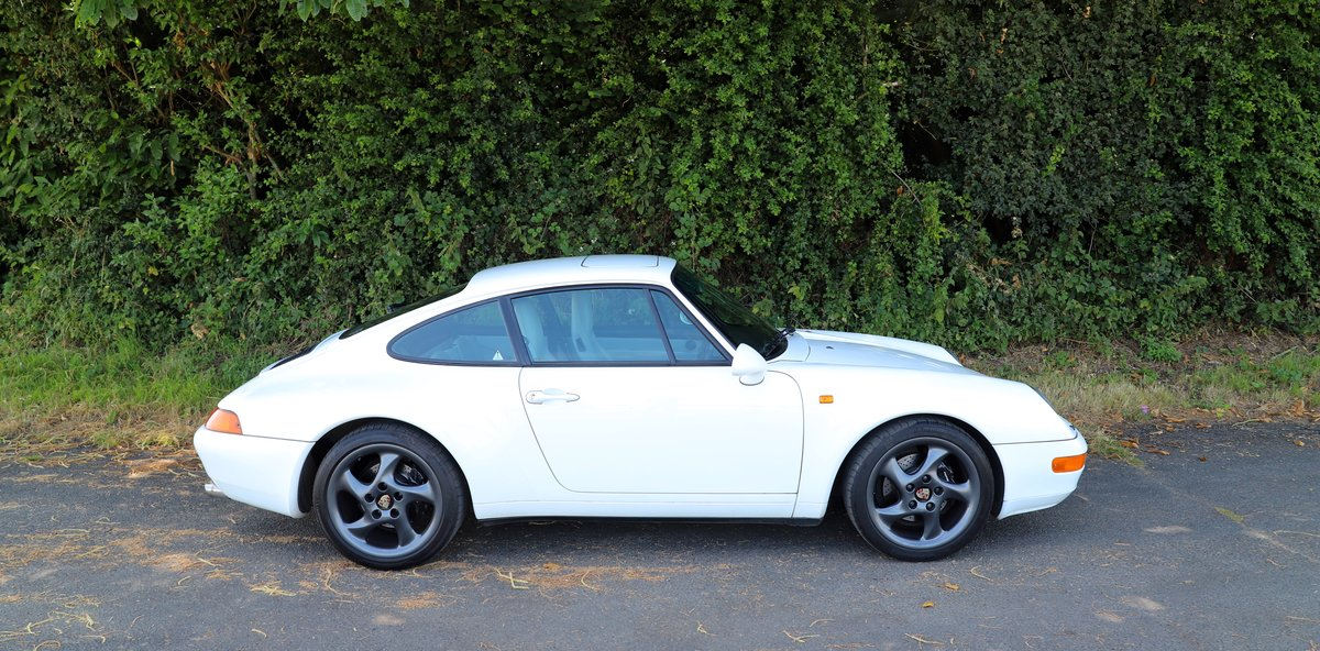 Porsche 911 993 3.6, 1994 (95MY).  Alpine White. For Sale (picture 2 of 6)