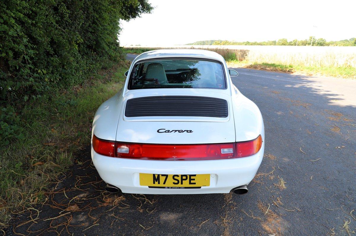 Porsche 911 993 3.6, 1994 (95MY).  Alpine White. For Sale (picture 3 of 6)