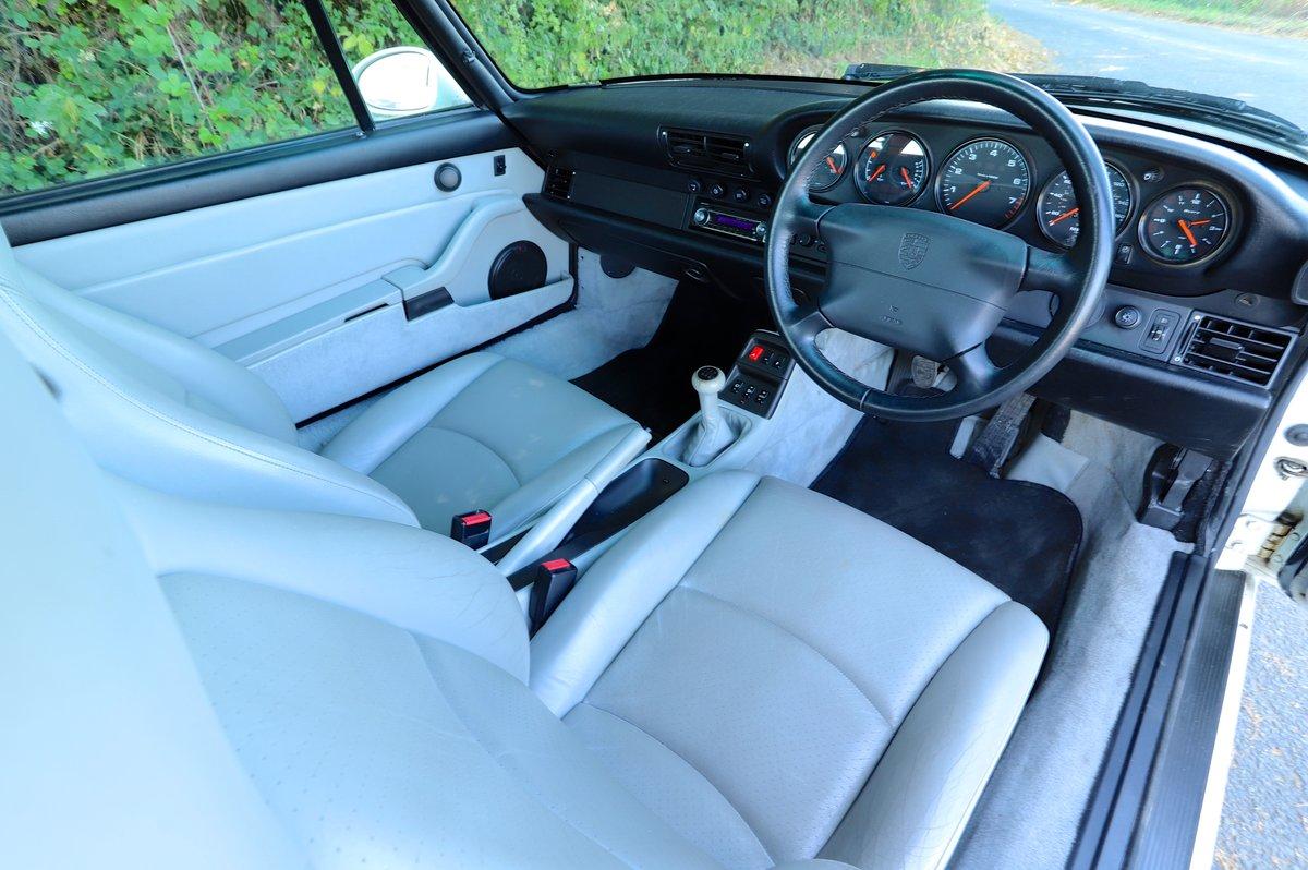 Porsche 911 993 3.6, 1994 (95MY).  Alpine White. For Sale (picture 5 of 6)