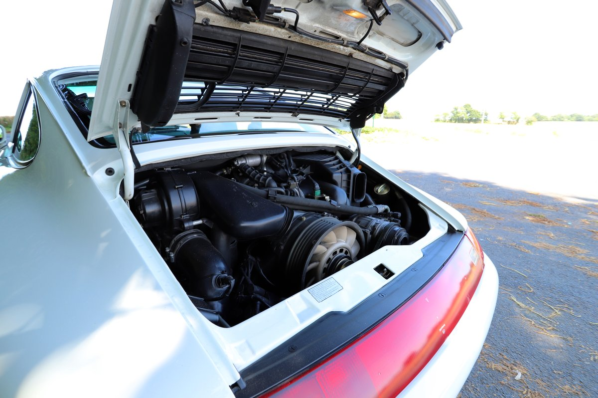 Porsche 911 993 3.6, 1994 (95MY).  Alpine White. For Sale (picture 6 of 6)