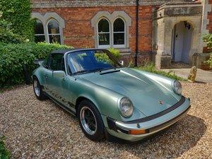 1976 Porsche Rare UK Sport Targa
