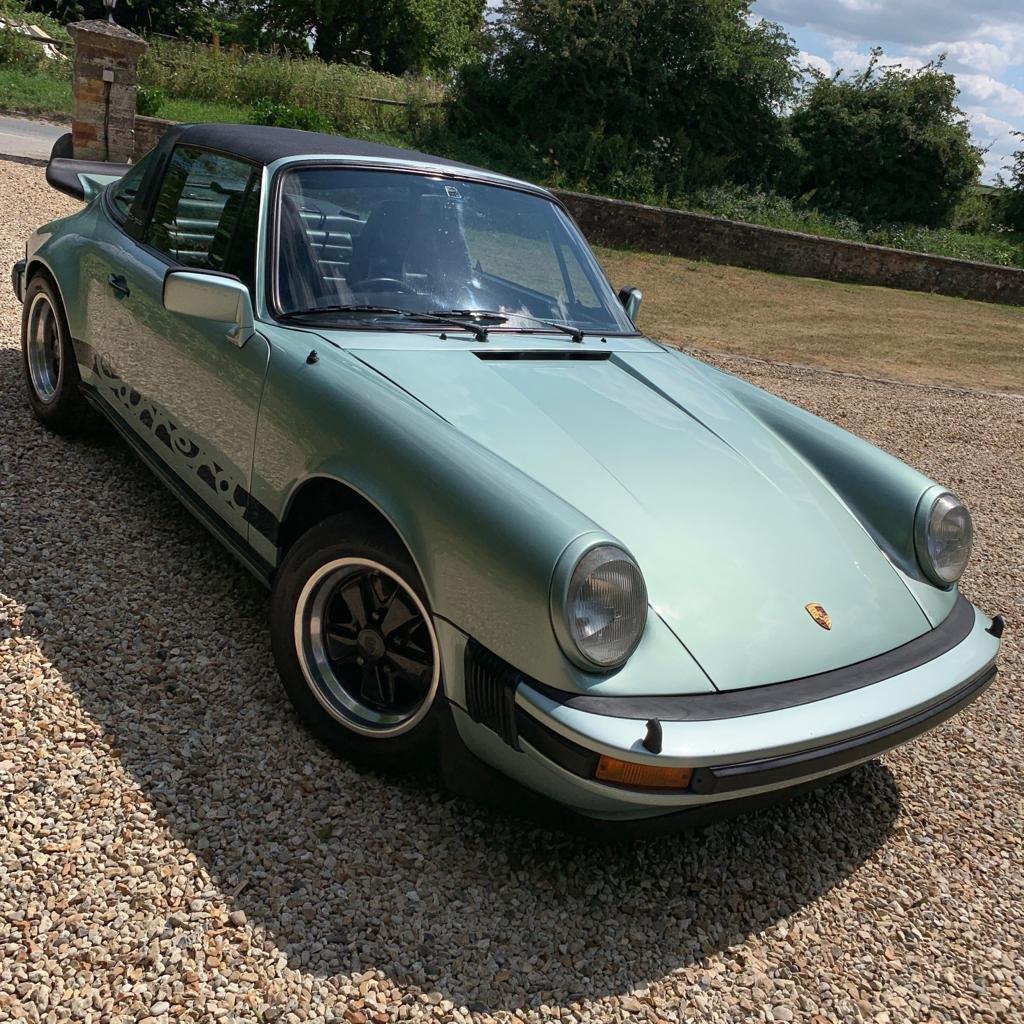1976 Porsche Rare UK Sport Targa For Sale