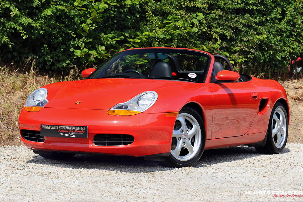 1997 Porsche 986 Boxster manual (Sport Technic pack) SOLD (picture 1 of 6)