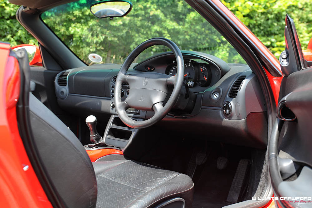 1997 Porsche 986 Boxster manual (Sport Technic pack) SOLD (picture 5 of 6)