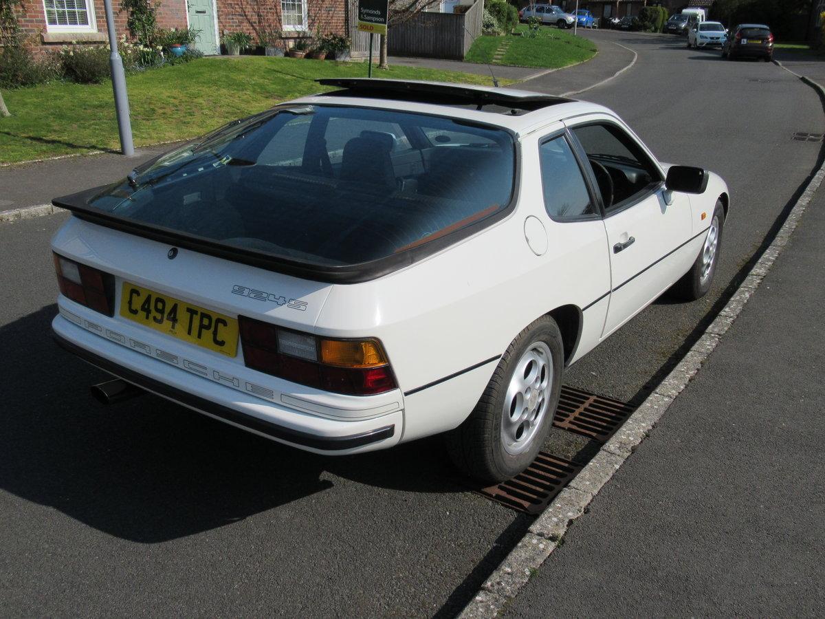 1986 Porsche 924s auto 127,500 miles full history For Sale (picture 4 of 6)
