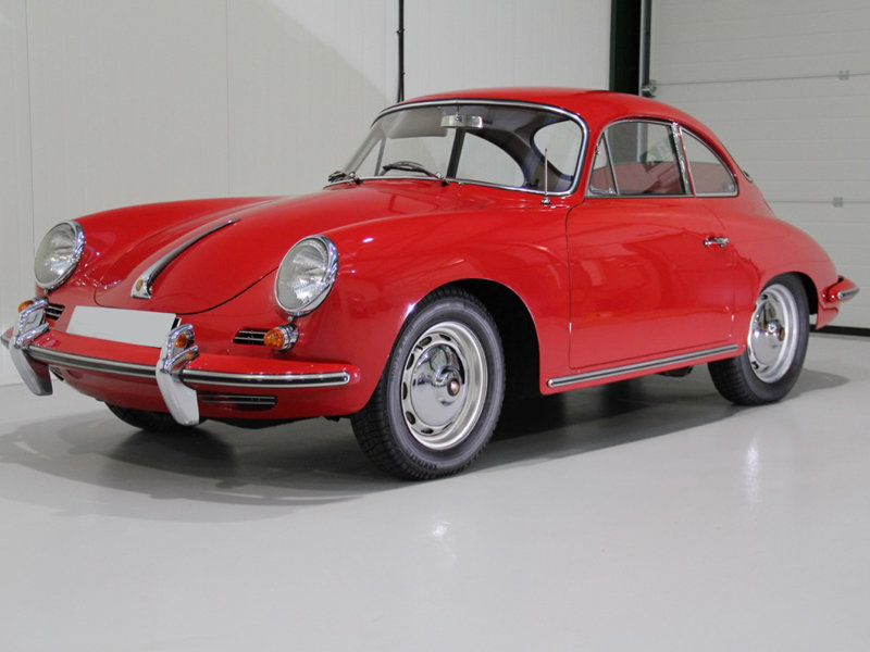 Porsche 356 B T6 Coupe 1962 Original Paint Right-Hand Drive For Sale (picture 1 of 6)