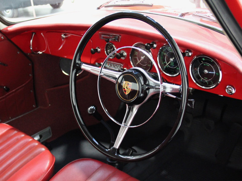 Porsche 356 B T6 Coupe 1962 Original Paint Right-Hand Drive For Sale (picture 2 of 6)