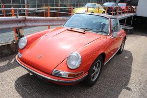 "Porsche 911T 1972 Targa 2.4L Engine LHD Tangerine ""oil klapp For Sale"