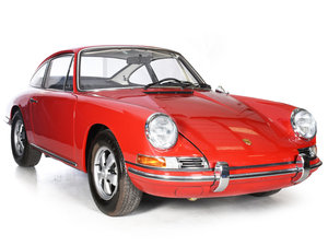 Porsche 911T 1968 LHD COUPE Polo Red SWB