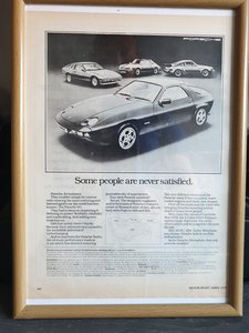 Original Porsche Advert