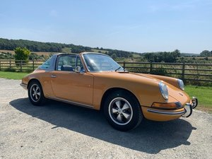 1969 Porsche 912 Achingly Cool Bahama Yellow For Sale