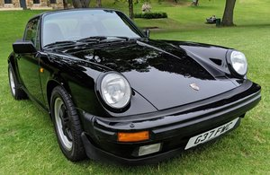 1989 Porsche 911 3.2 Targa in Black Stunning  For Sale