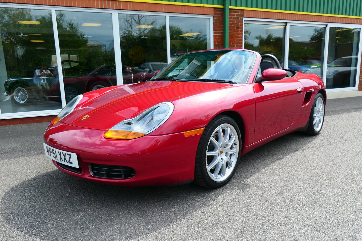 2001 Porsche Boxster 3.2S Beautiful Low Mileage 6 Speed Manual  SOLD (picture 1 of 6)