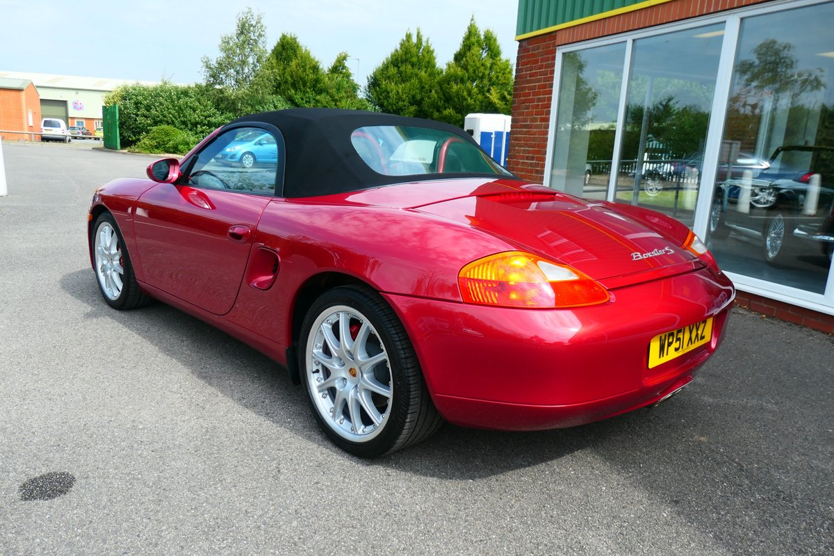 2001 Porsche Boxster 3.2S Beautiful Low Mileage 6 Speed Manual  SOLD (picture 2 of 6)