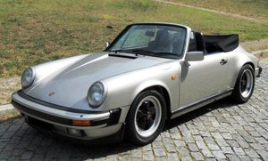 Porsche 911 Carrera 3.2 Cabriolet - 1989 For Sale