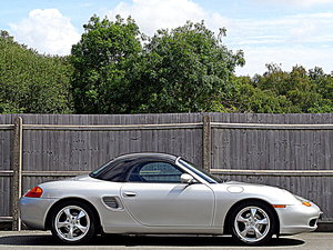 2001 Low Mileage  Porsche Boxster 2.7 with Sport Design Pack For Sale