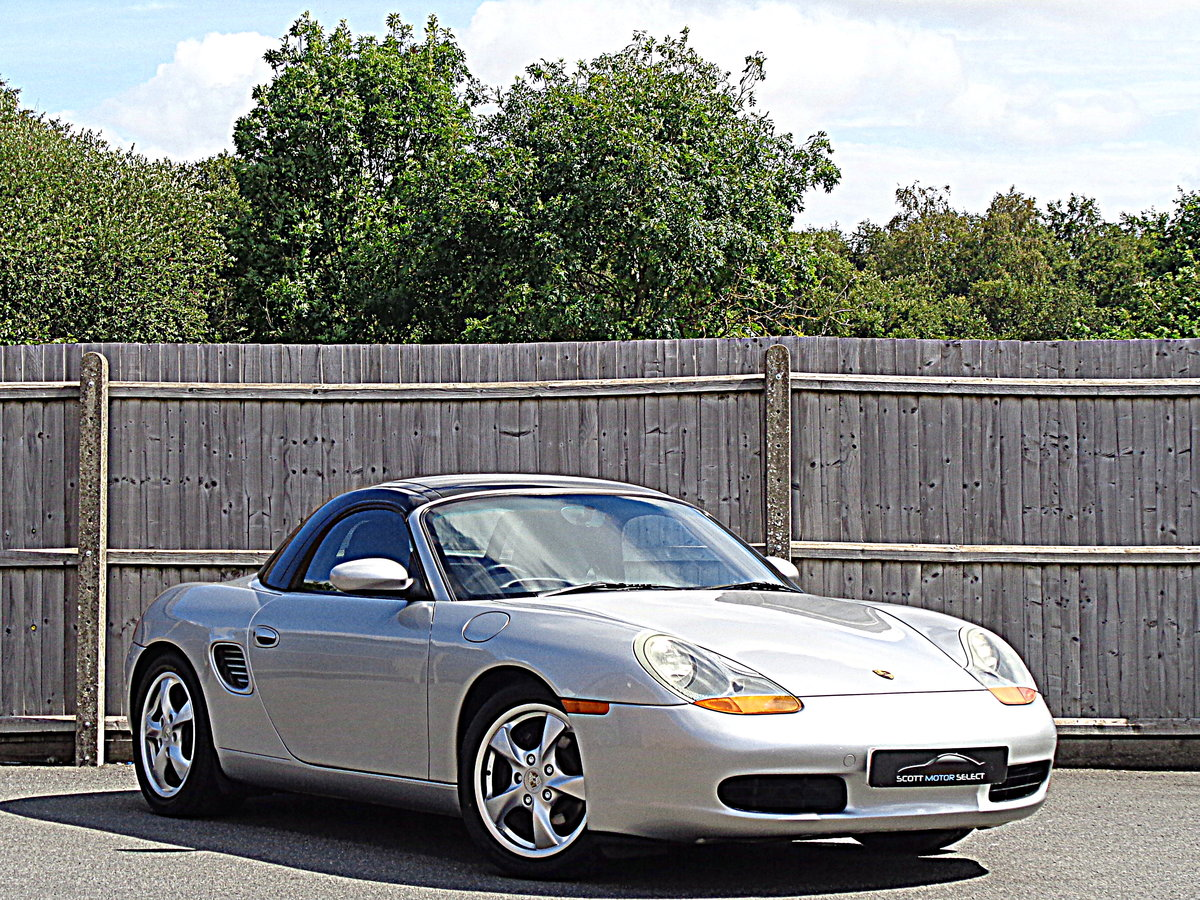 2001 Low Mileage  Porsche Boxster 2.7 with Sport Design Pack For Sale (picture 1 of 6)