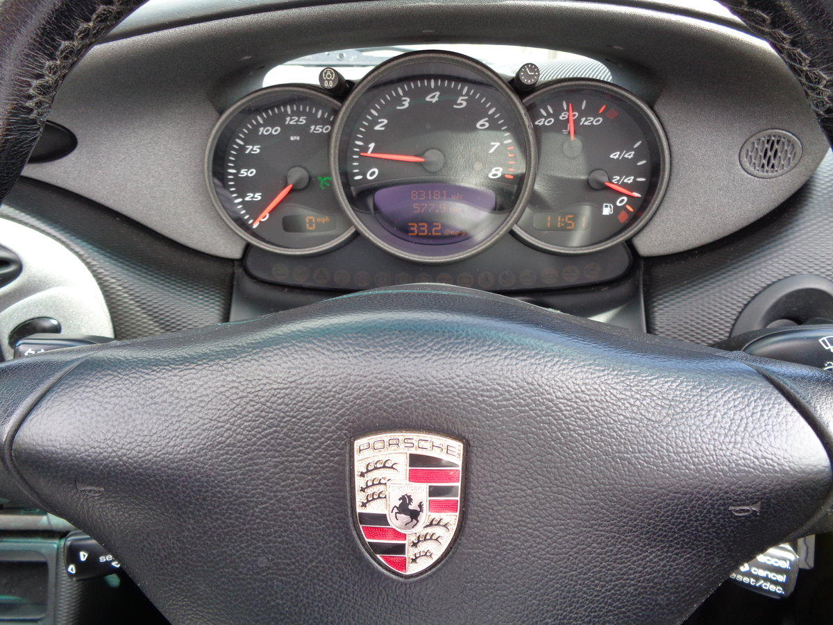 2001 Low Mileage  Porsche Boxster 2.7 with Sport Design Pack For Sale (picture 3 of 6)