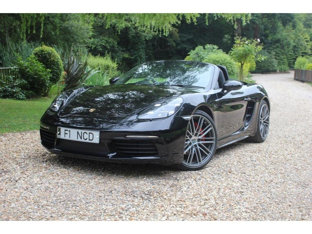 2018 Porsche 718 Boxster 2.5T S PDK (s/s) 2dr THE BIGGEST SPEC  For Sale (picture 1 of 1)
