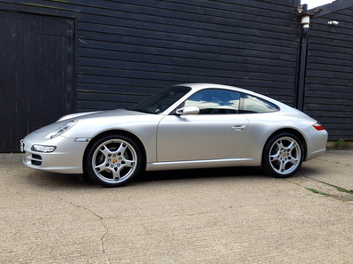 2005 PORSCHE 911/997 3.6 CARRERA 2 COUPE Tiptronic S - F.p.s.h   SOLD (picture 1 of 6)