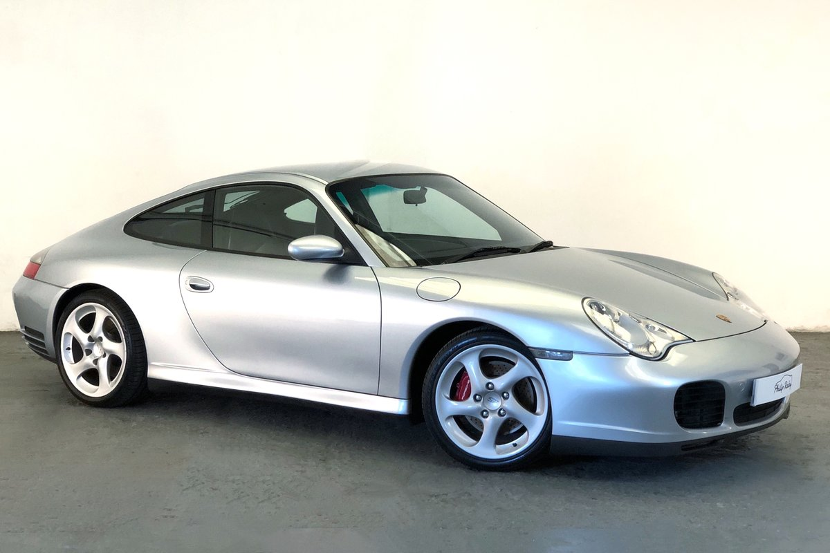 2002 Porsche 996 Carrera 4S, stunning condition with IMS upgrade SOLD (picture 1 of 6)