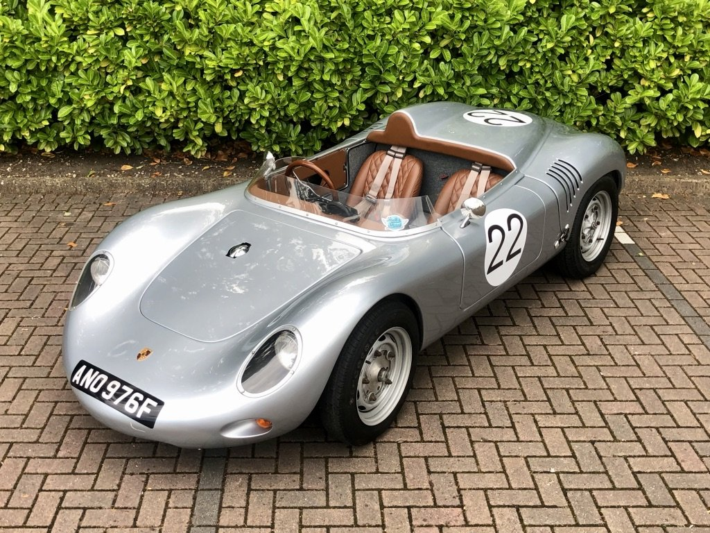 1968 Porsche 718 RSK Spyder // Classic Race Car Replica For Sale (picture 1 of 6)