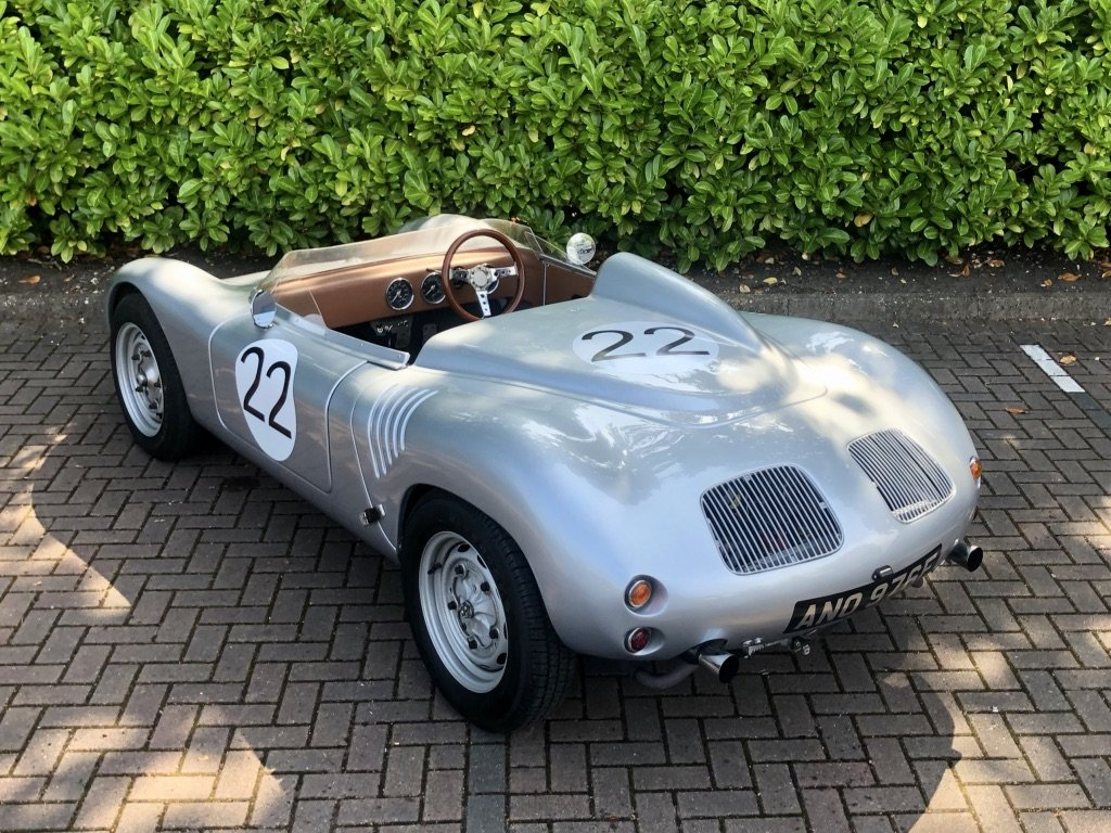 1968 Porsche 718 RSK Spyder // Classic Race Car Replica For Sale (picture 2 of 6)