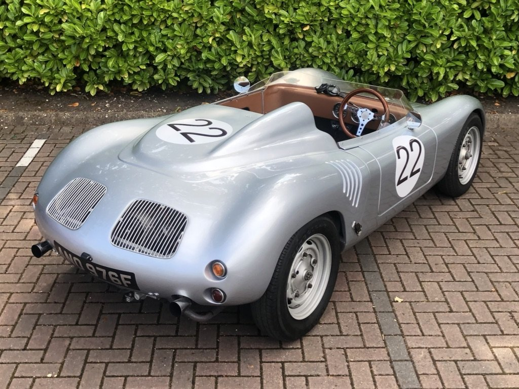 1968 Porsche 718 RSK Spyder // Classic Race Car Replica For Sale (picture 3 of 6)