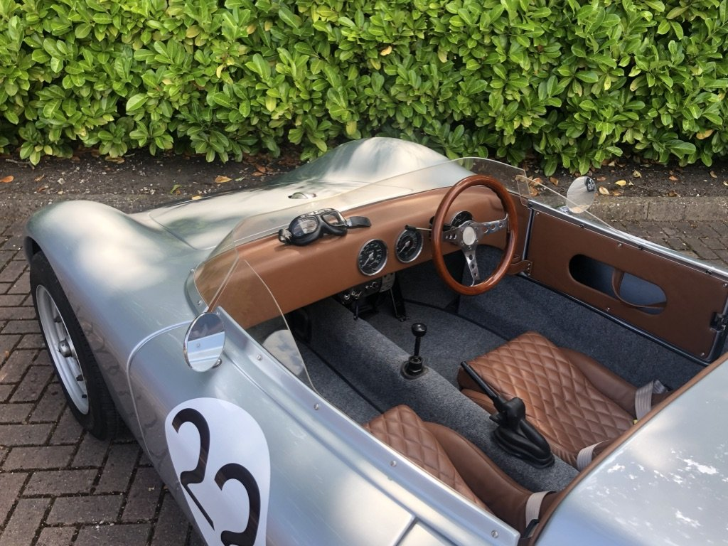 1968 Porsche 718 RSK Spyder // Classic Race Car Replica For Sale (picture 6 of 6)