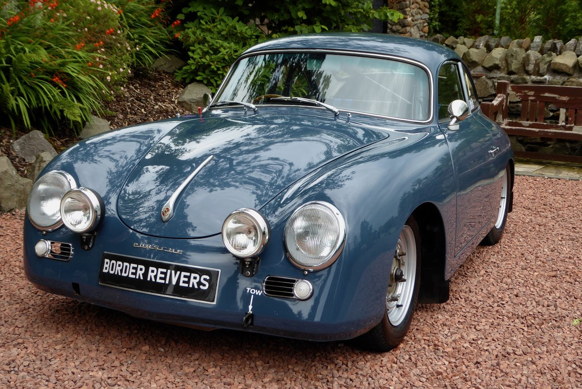1956 Porsche 356A Rally Coupe, Right hand drive, AFN Supplied For Sale (picture 1 of 6)