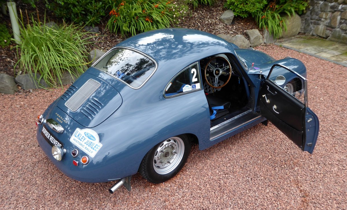 1956 Porsche 356A Rally Coupe, Right hand drive, AFN Supplied For Sale (picture 2 of 6)