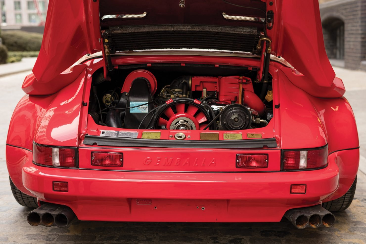 1986 Porsche Flatnose Gemballa Cyrrus Rare  For Sale (picture 5 of 6)