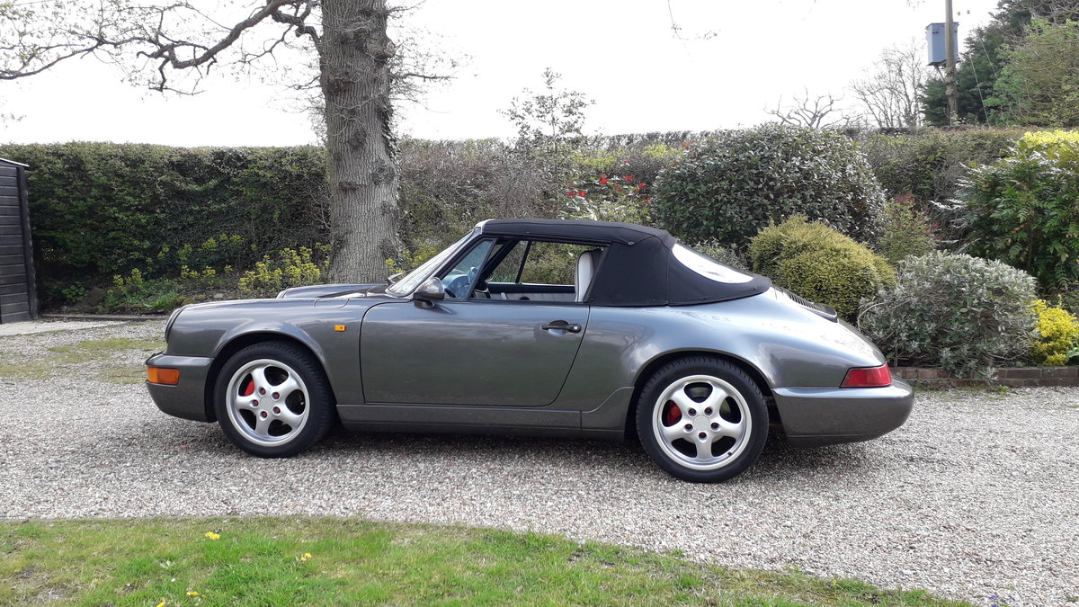 1991 Porsche 964 Convertible For Sale (picture 1 of 6)