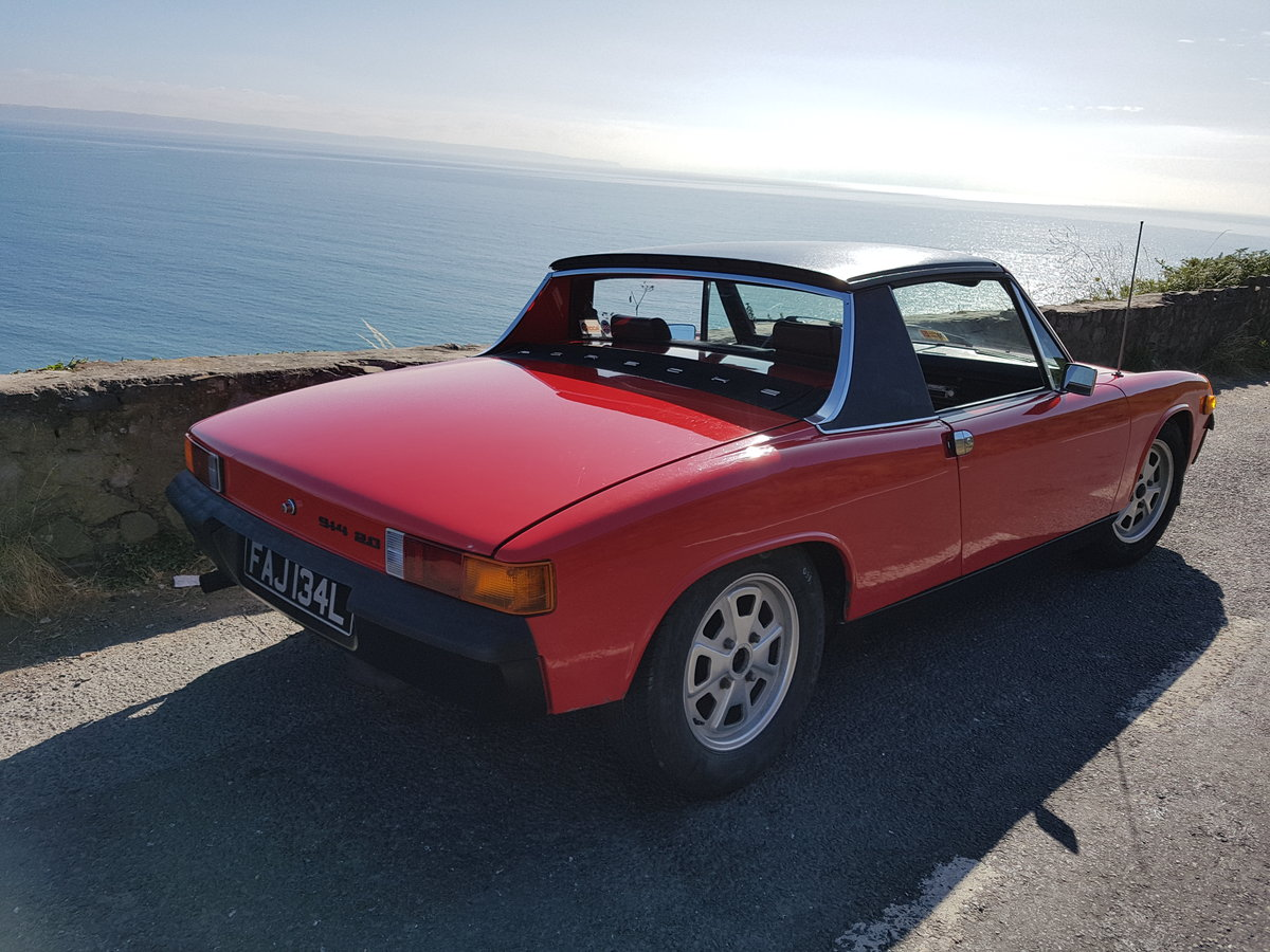 1973 Porsche 914 2.0L, Appearance package. SOLD (picture 2 of 6)
