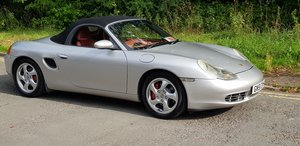 2001 Boxster 3.2 Tiptronic  61,000 Mile 2 owners from new For Sale