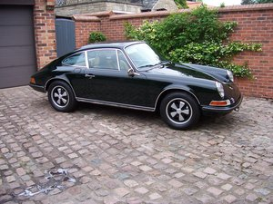 1972 Porsche 2.4 911E RHD  For Sale