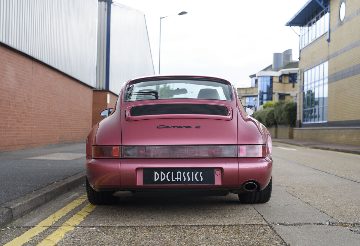 1994 Porsche 964 Carrera 2 (LHD) For Sale In London For Sale (picture 8 of 24)